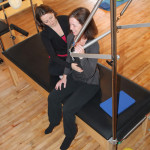 Pilates Trapese lesson